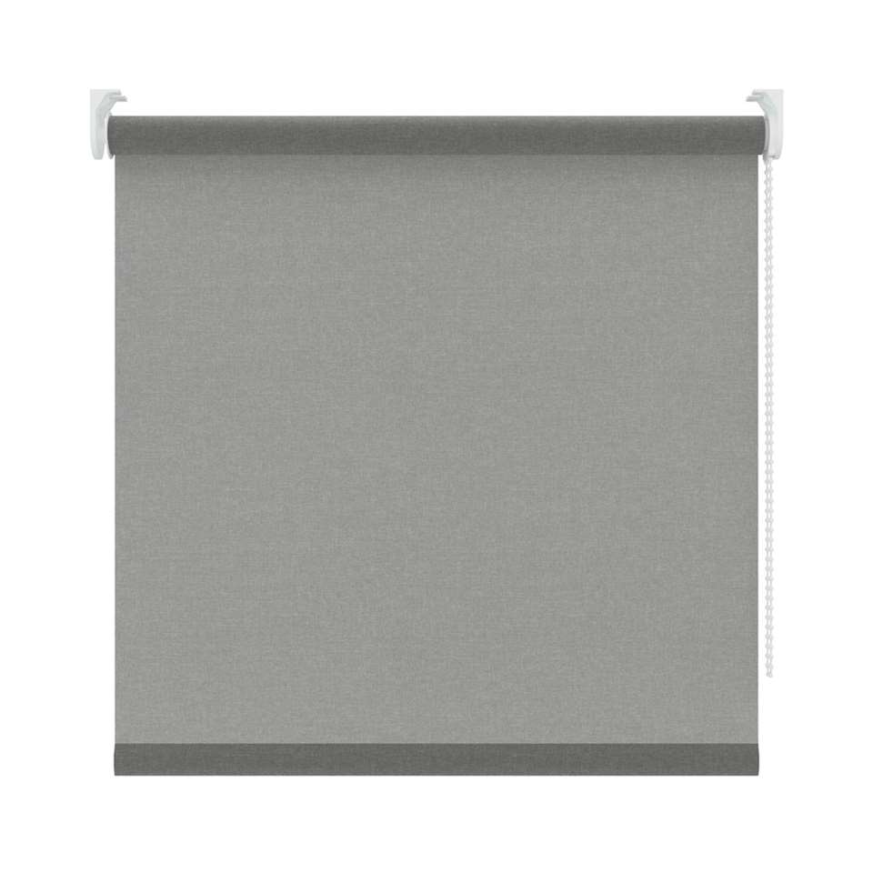 Rolgordijn lichtdoorlatend - grijs - 60x190 cm
