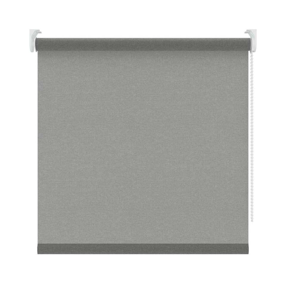 Rolgordijn lichtdoorlatend - grijs - 90x190 cm - Leen Bakker