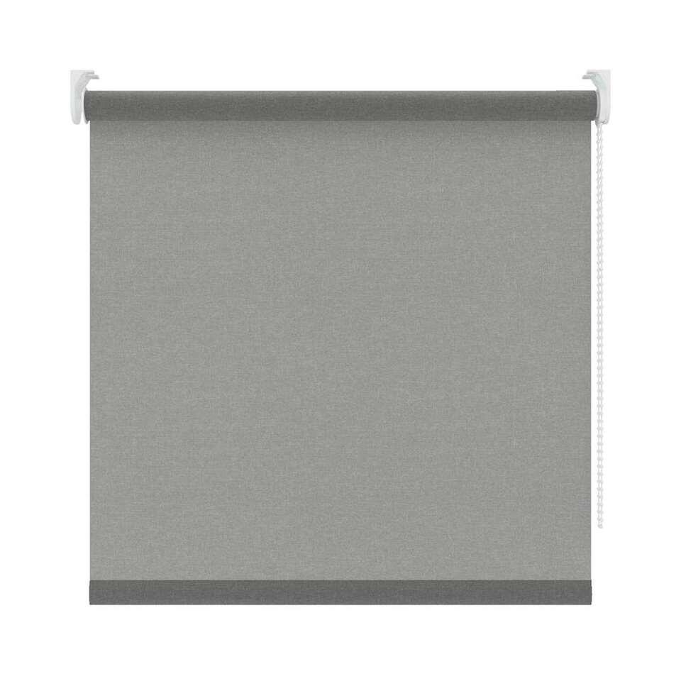 Rolgordijn lichtdoorlatend - grijs - 120x190 cm