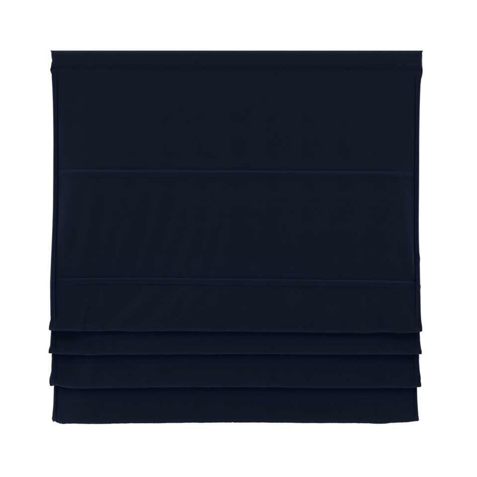 Vouwgordijn verduisterend - zwart - 80x180 cm - Leen Bakker