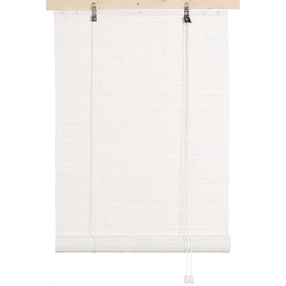 Rolgordijn Bamboe – wit – 90×180 cm – Leen Bakker