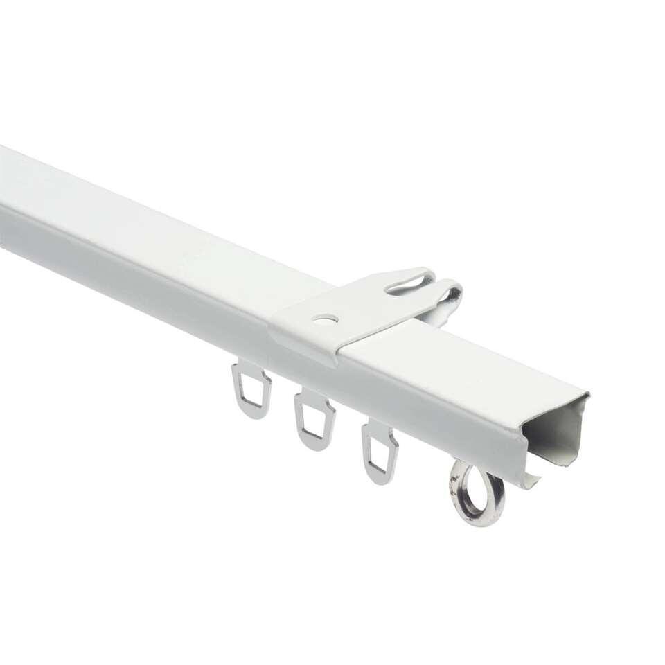 Luxe u-rail wit. Lengte 100 cm.