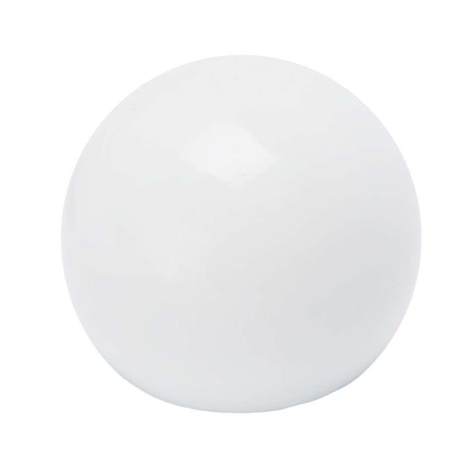 Gordijnroede knop Sphere 20 mm - hoogglans wit (2 stuks)