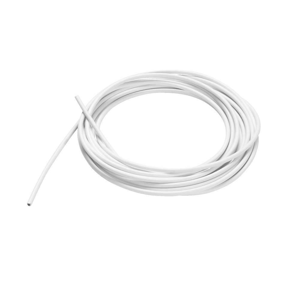 Spiraal - wit - 500 cm - Leen Bakker