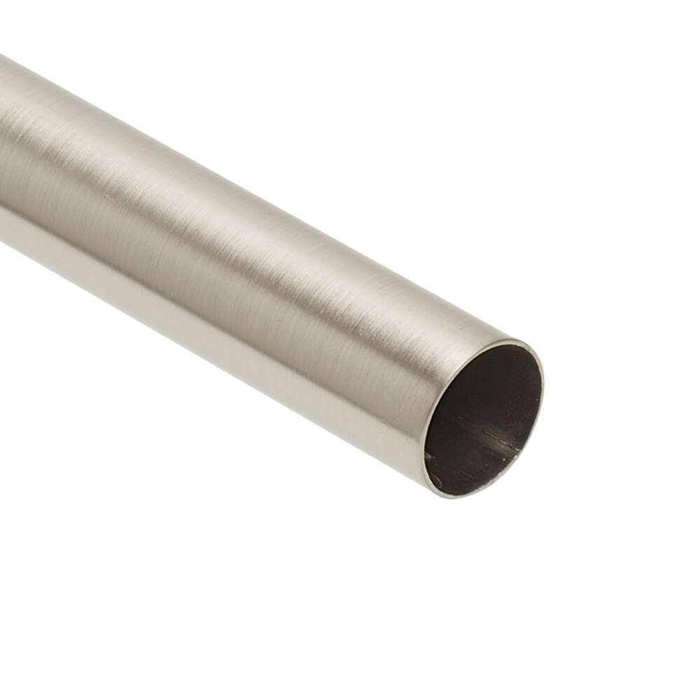Roede 20 mm - zilverkleur - 120 cm