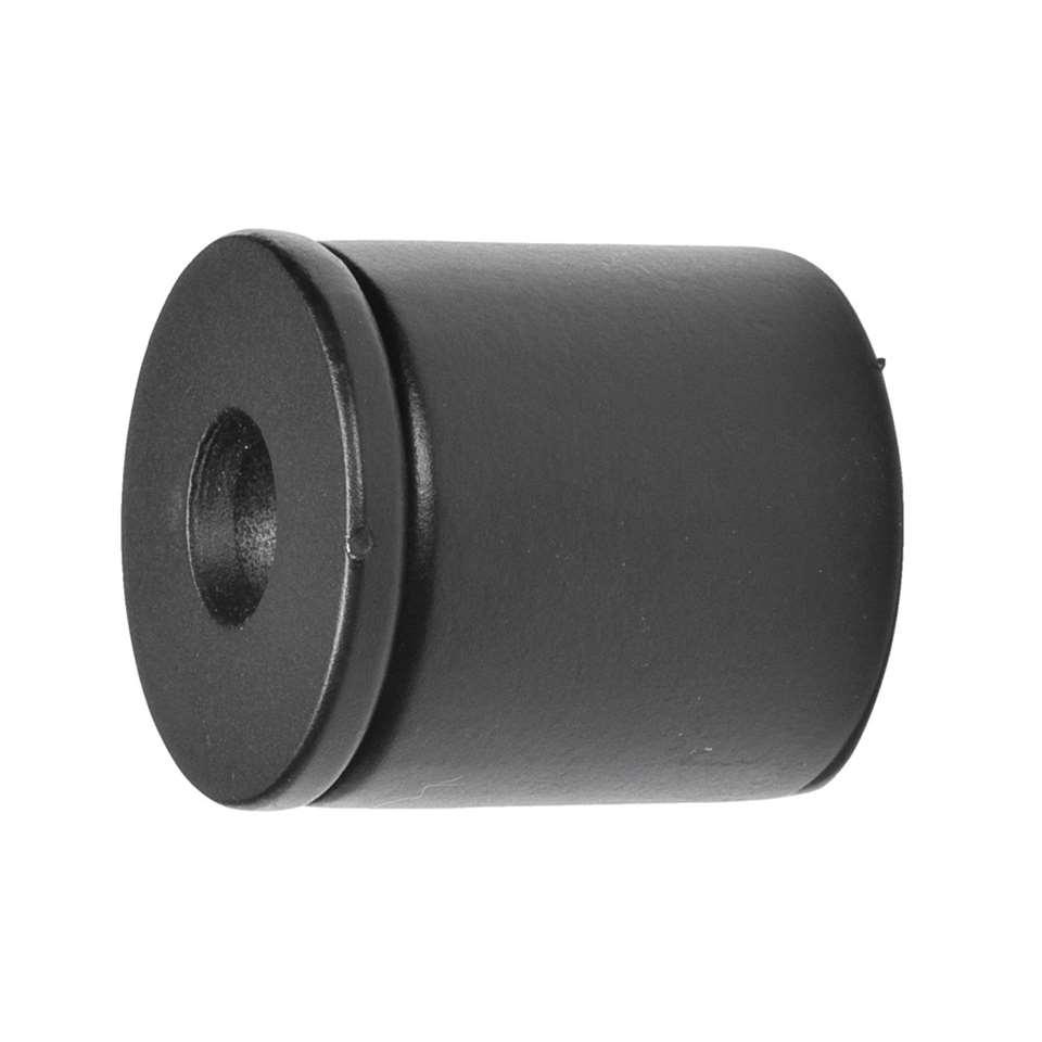 Steun 16 mm - zwart (2 stuks) - Leen Bakker