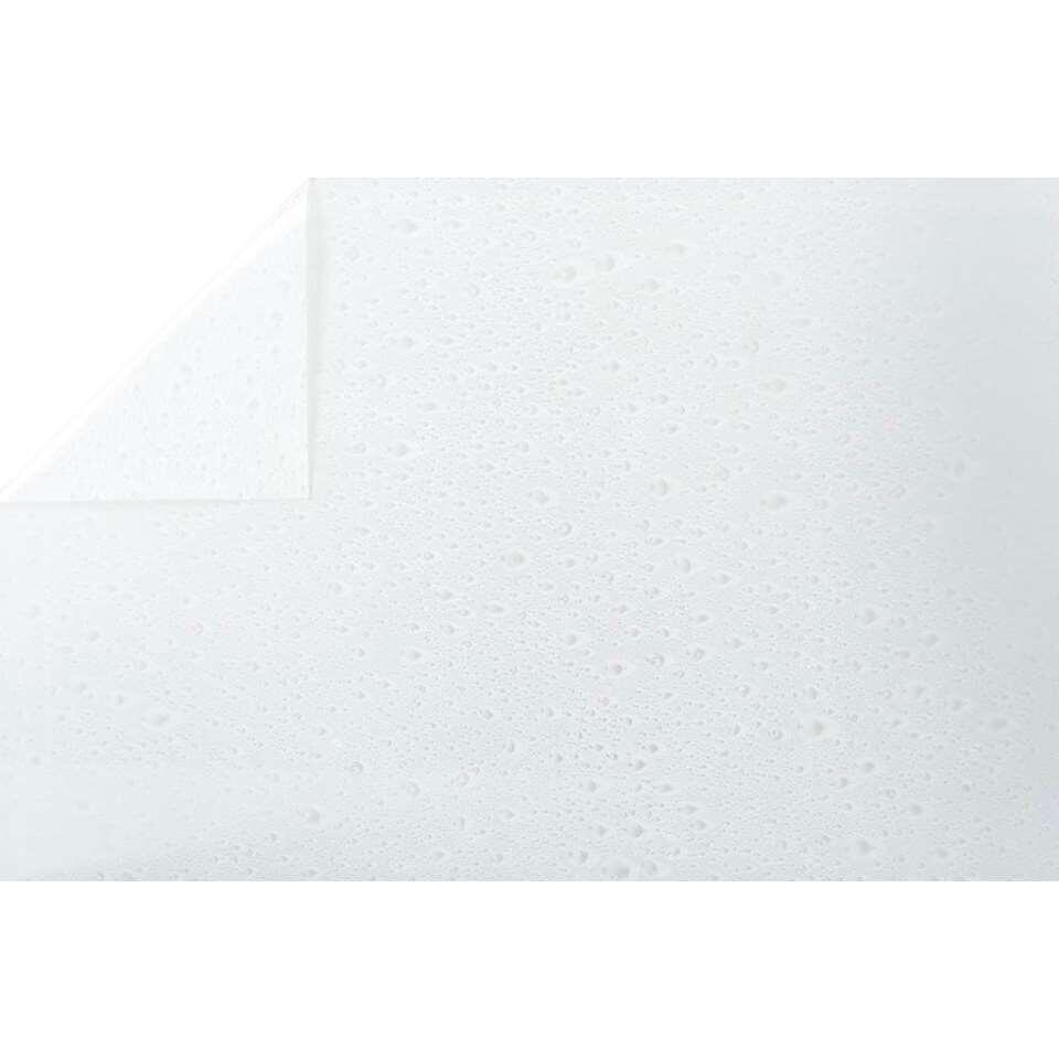 Bestfix raamfolie Waterdrop creëert een fijne privé sfeer in huis. Het is eenvoudig op het raam aan te brengen.