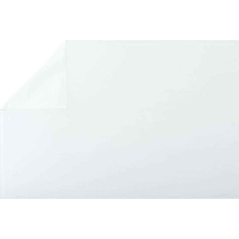 Bestfix raamfolie Sand White creëert een fijne privé sfeer in huis. Het is eenvoudig op het raam aan te brengen.
