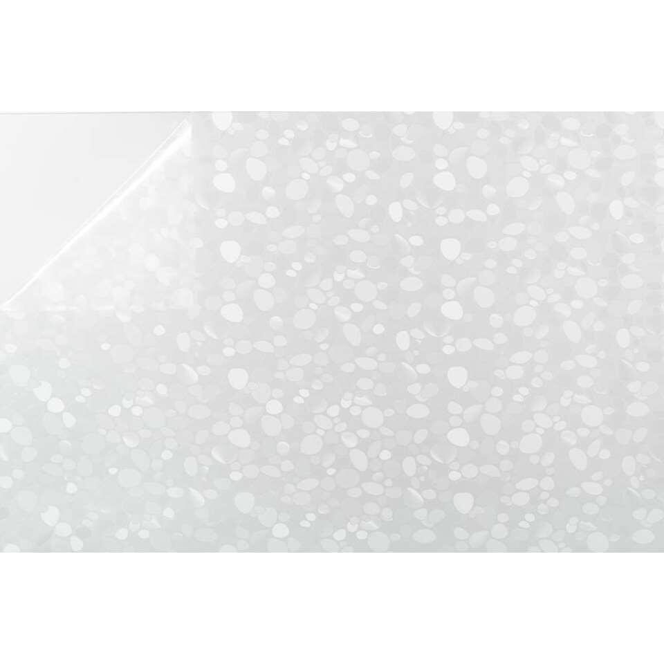 Bestfix raamfolie Stones creëert een fijne privé sfeer in huis. Het is eenvoudig op het raam aan te brengen.