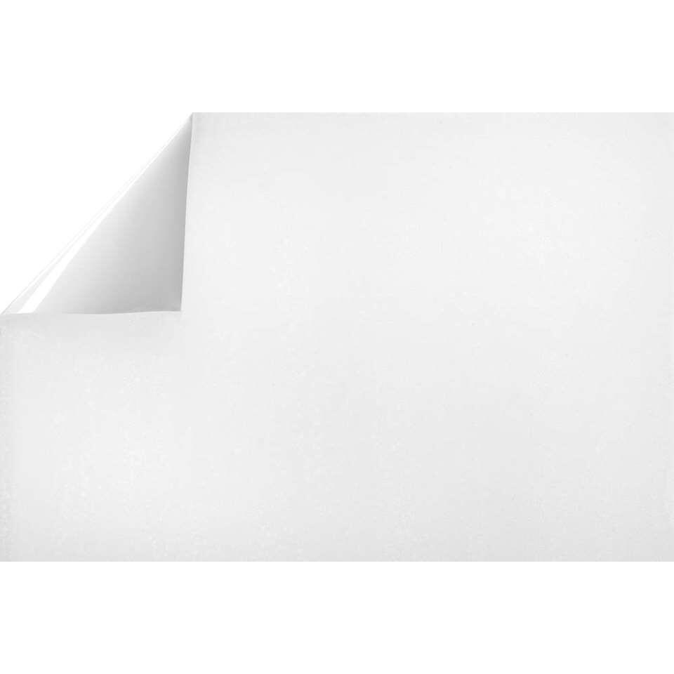 Statifix raamfolie Frost - wit transparant - 45 cm
