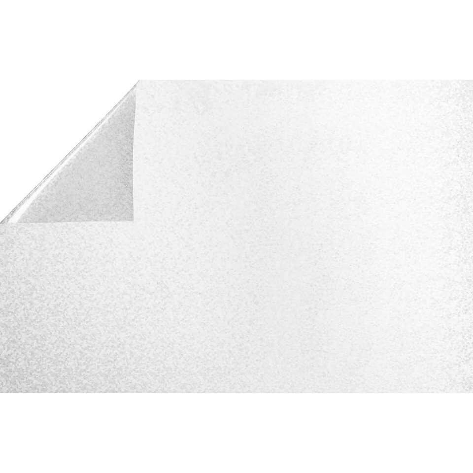 Statifix raamfolie Energy creëert een fijne privé sfeer in huis. Het is eenvoudig op het raam aan te brengen.