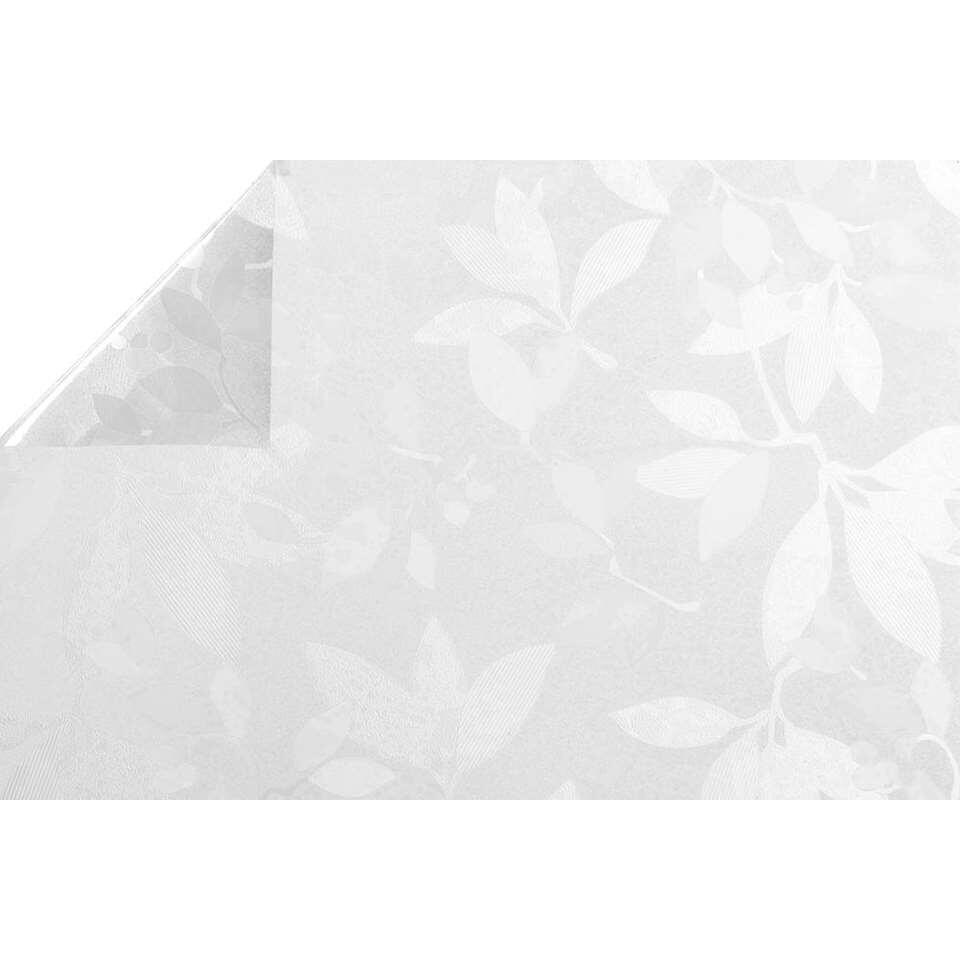 Statifix raamfolie Spring creëert een fijne privé sfeer in huis. Het is eenvoudig op het raam aan te brengen.