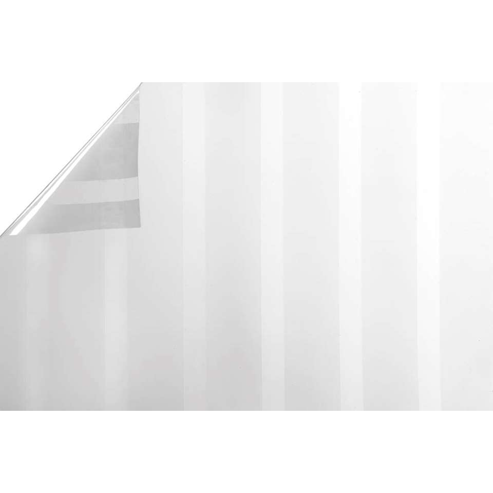 Statifix raamfolie Shade creëert een fijne privé sfeer in huis. Het is eenvoudig op het raam aan te brengen.