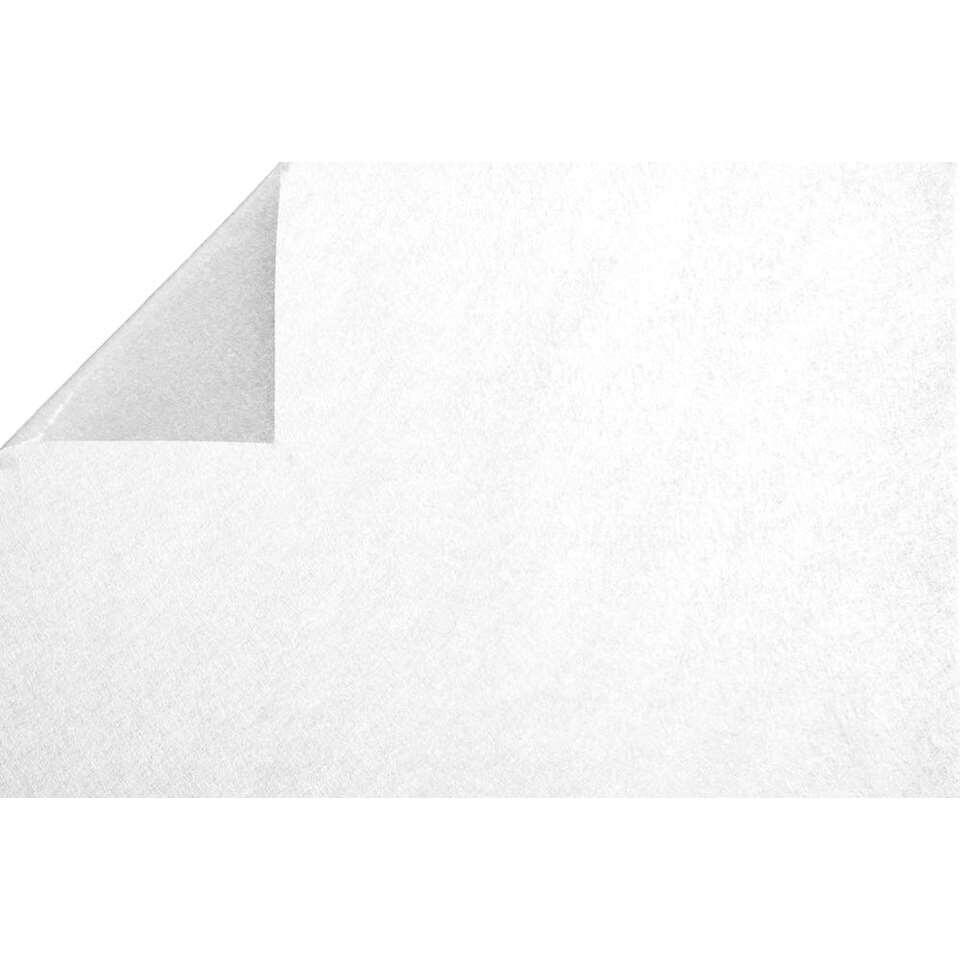 Statifix raamfolie Fiberglass creëert een fijne privé sfeer in huis. Het is eenvoudig op het raam aan te brengen.