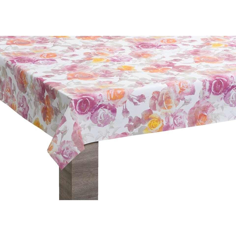 Tafelzeil Rose - multikleur - 140 cm