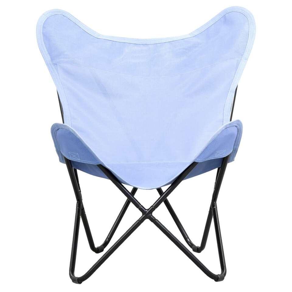 Relaxstoel Gerona - blauw - Leen Bakker