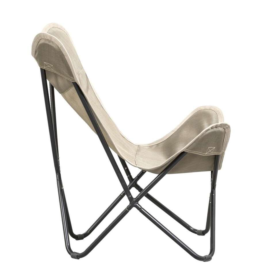 Relaxstoel gerona taupe for Relax stoel