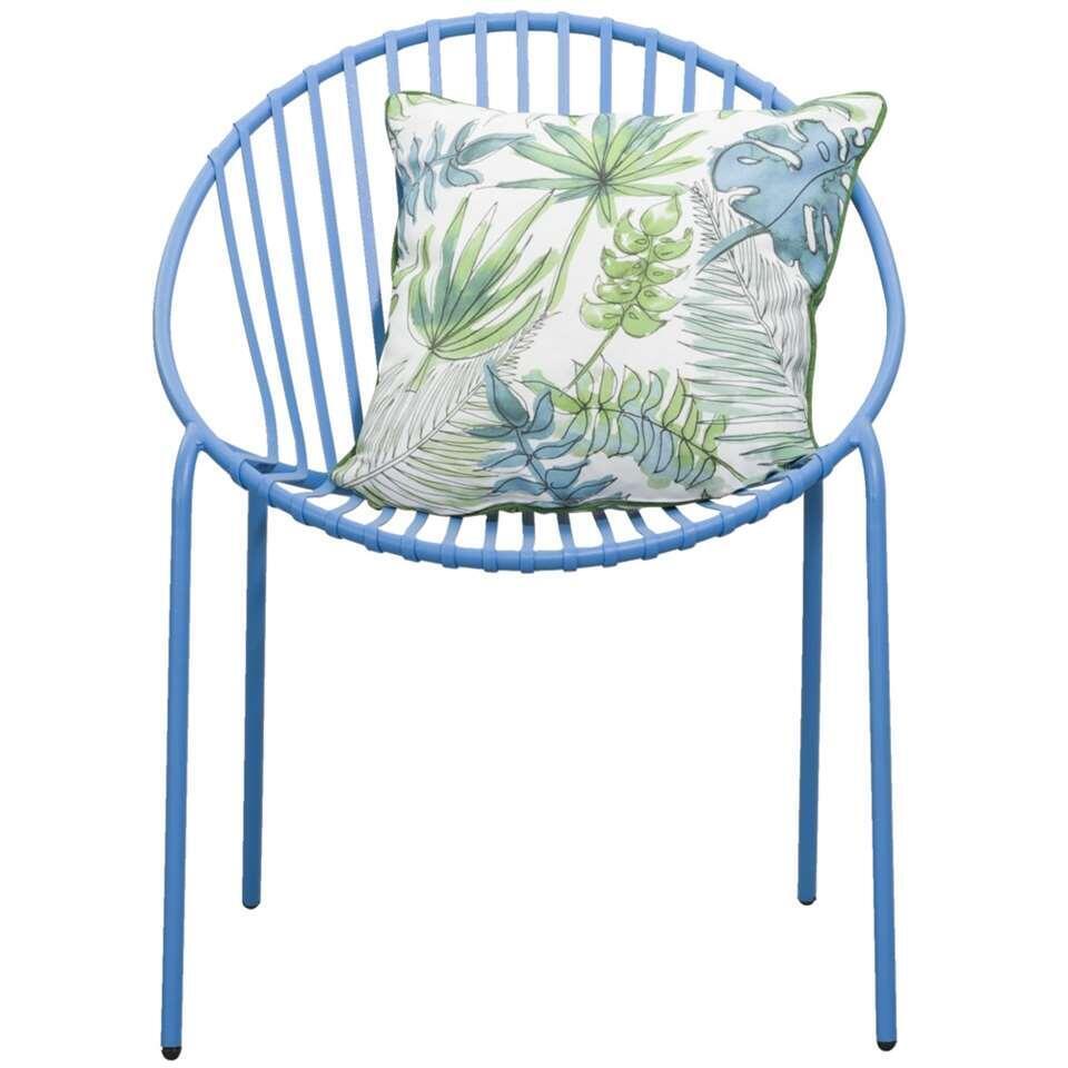 Stapelstoel Salvador - blauw - Leen Bakker