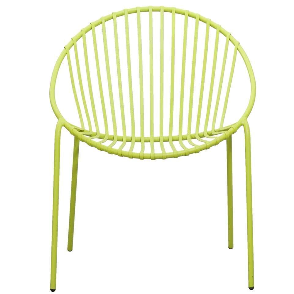 Stapelstoel Salvador – groen – Leen Bakker