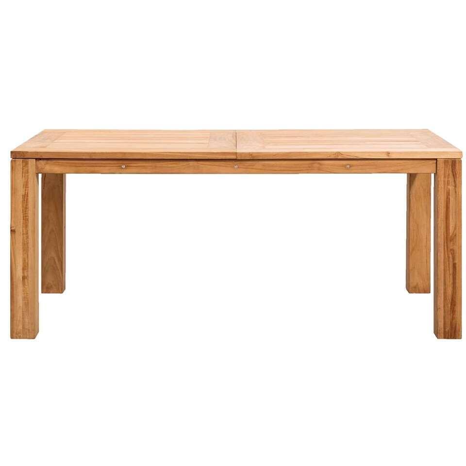 Le Sud tafel Antibes – teakkleur – 180x90x76,5 cm – Leen Bakker