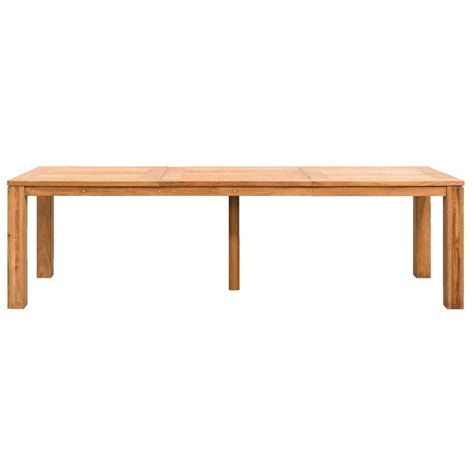 Le Sud tafel Antibes - teakkleur - 270x90x76,5 cm - Leen Bakker