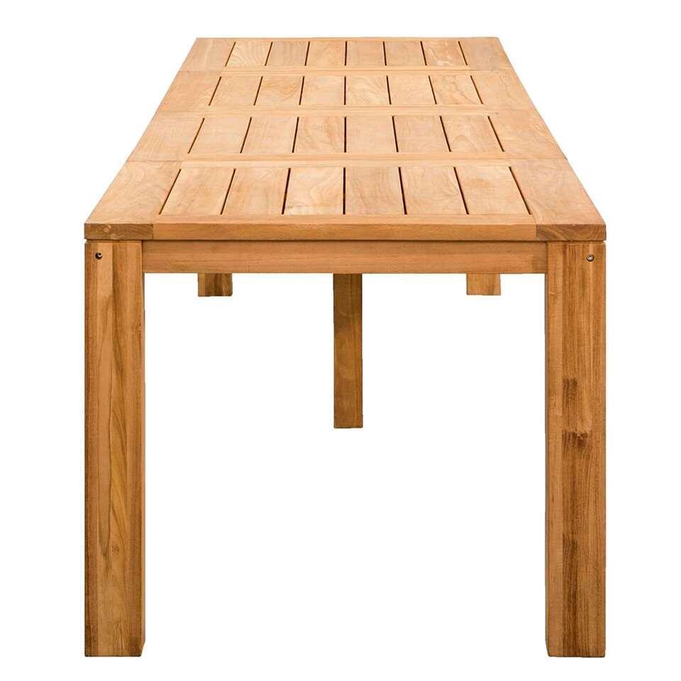 Le Sud tafel Antibes - teakkleur - 360x90x76,5 cm - Leen Bakker