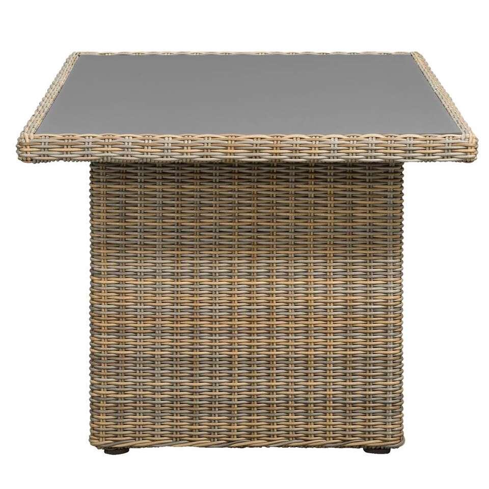 Le Sud tafel Pescara - taupe - 145x85x66 cm - Leen Bakker