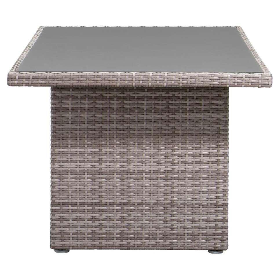 Le Sud tafel Ancona - lichtgrijs - 145x85x66 cm - Leen Bakker