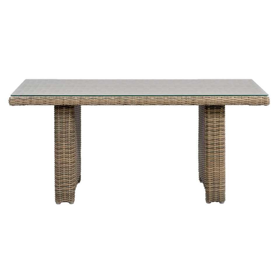 Le Sud tafel Verona - grijs - 145x84x66 cm - Leen Bakker