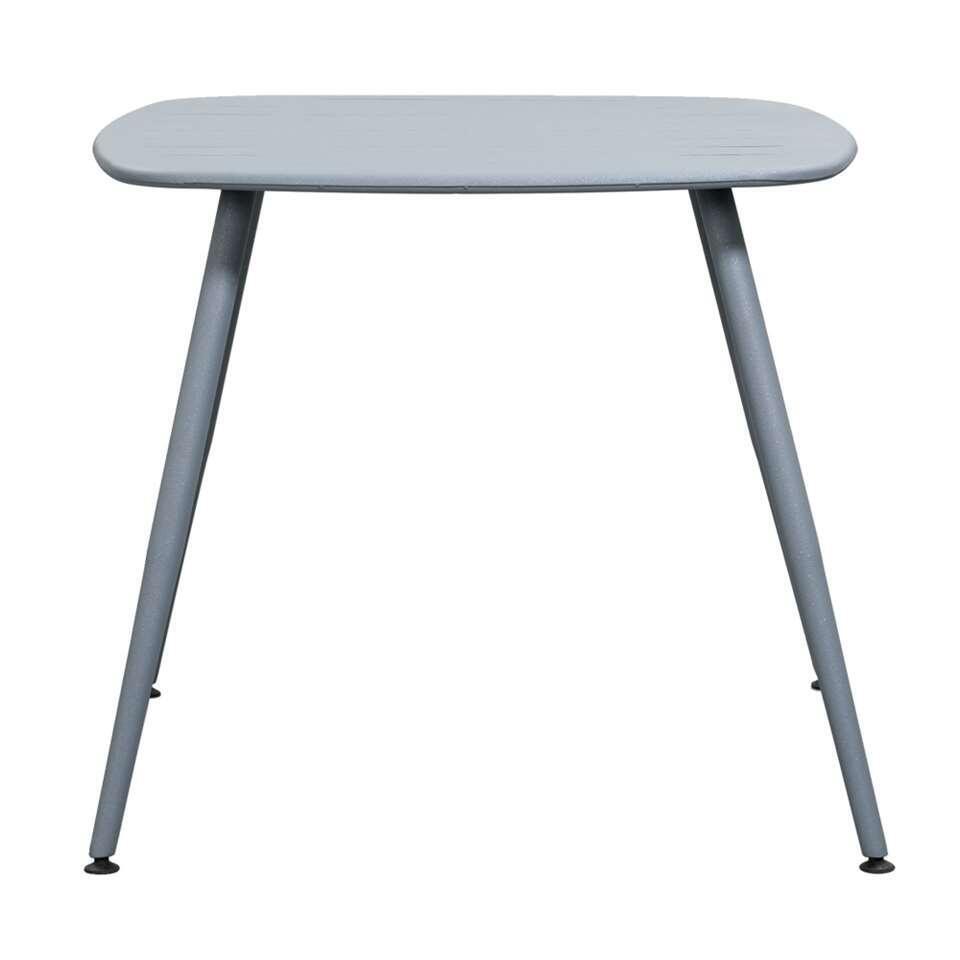 Le Sud tafel Torino - grijs - 85x85x74 cm - Leen Bakker