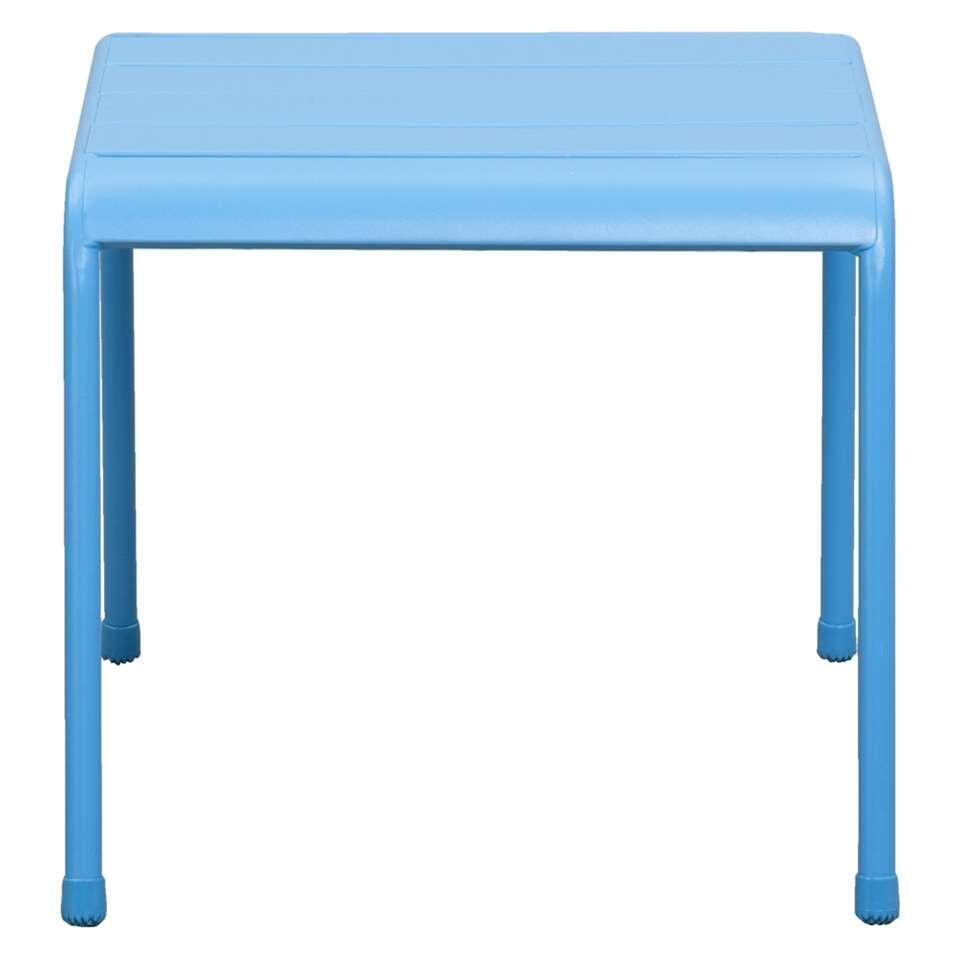 Tafel Fortaleze - blauw - 56x44x39 cm - Leen Bakker