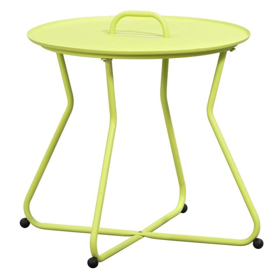 Bijzettafel Boa Vista – groen – Ø55×50 cm – Leen Bakker