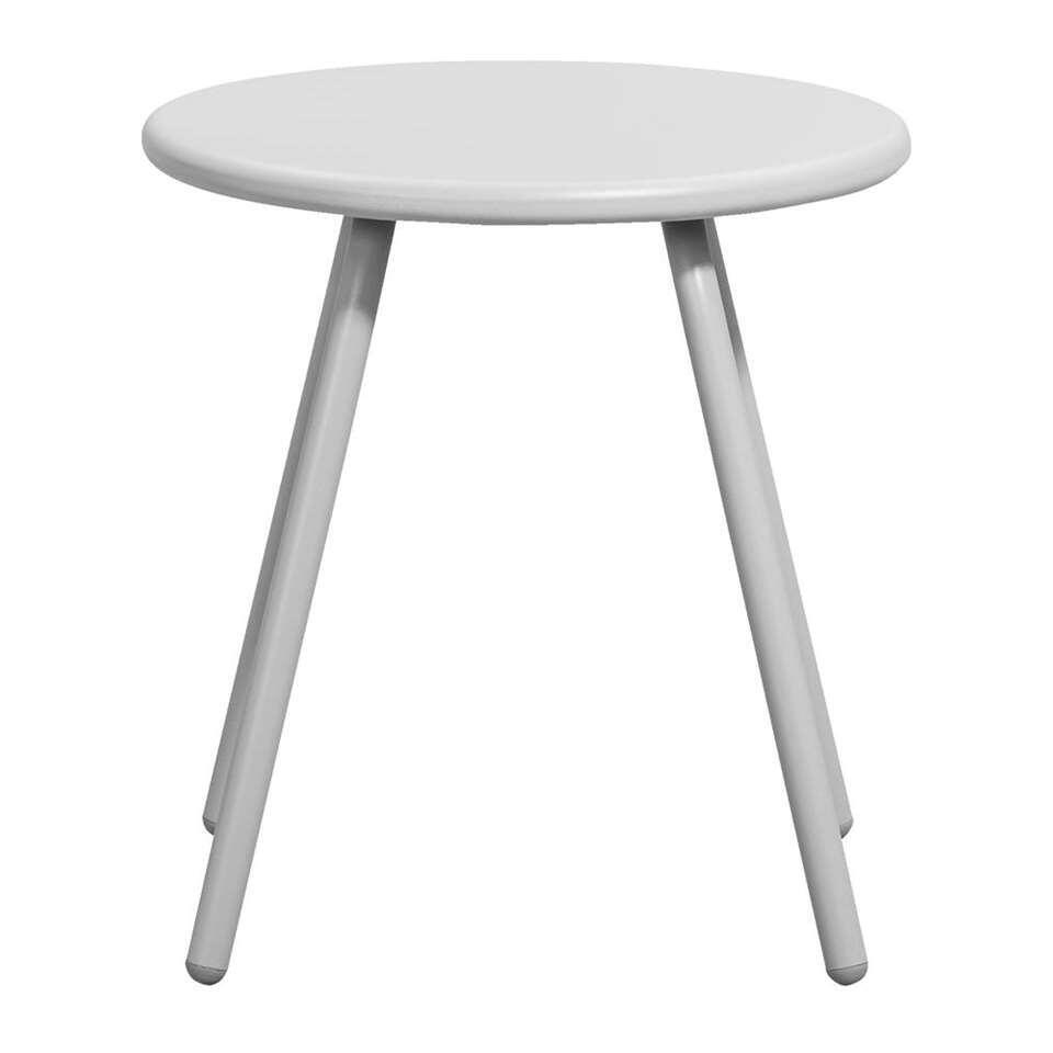 Bijzettafel Vilanova - grijs - Ø39x41,5 cm - Leen Bakker