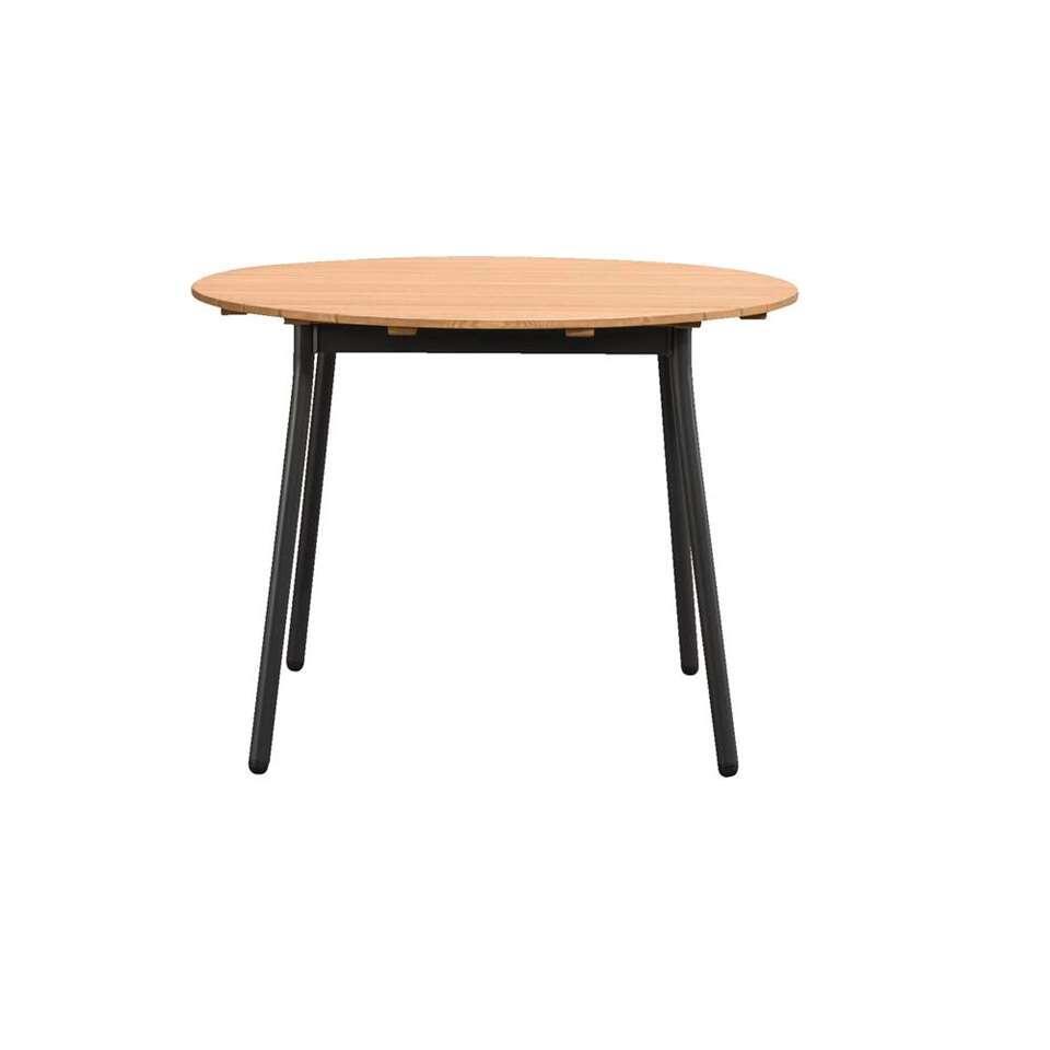 Le Sud tafel Loire - naturel - Ø110x75 cm - Leen Bakker
