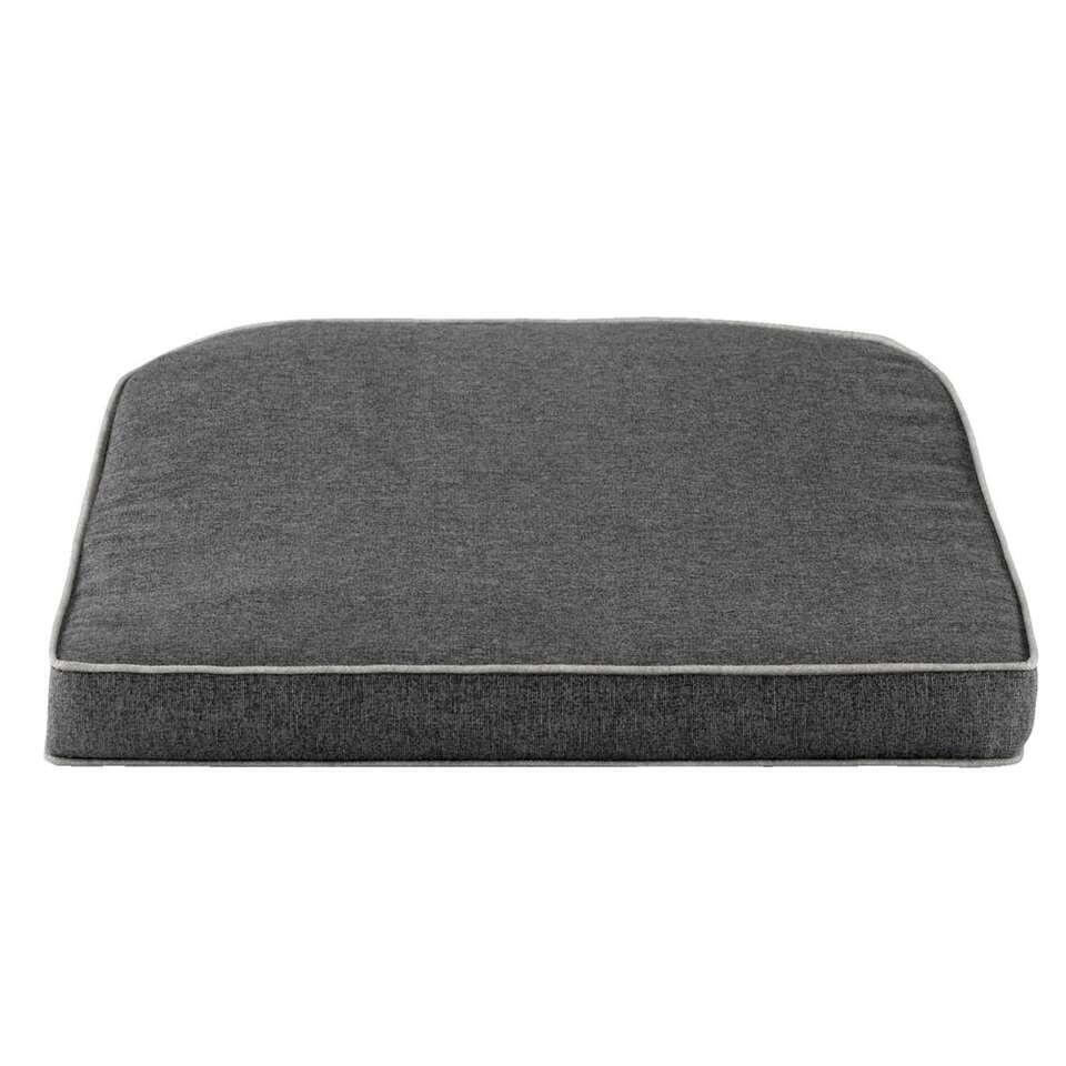 Kussen Verona - donkergrijs - 45x47x6 cm