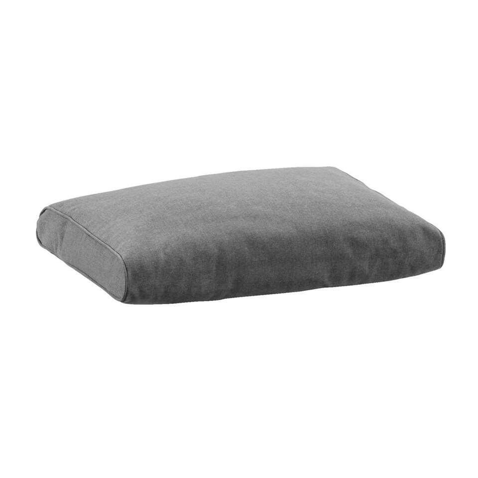 Le Sud loungekussen Provence - grijs - 60x43 cm - Leen Bakker