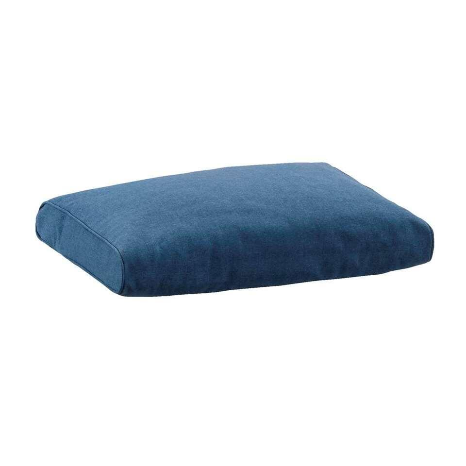 Le Sud loungekussen Provence - blauw - 60x43 cm - Leen Bakker