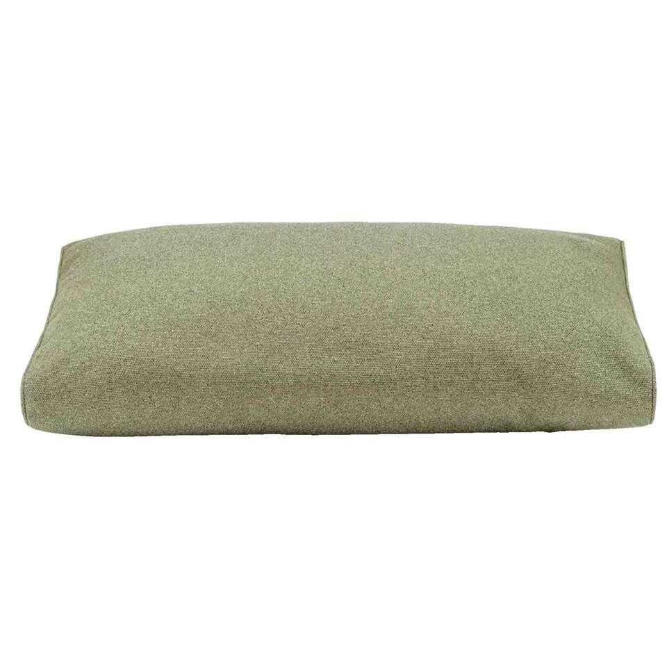 Le Sud rugkussen Orleans - groen - 73x43x12 cm - Leen Bakker