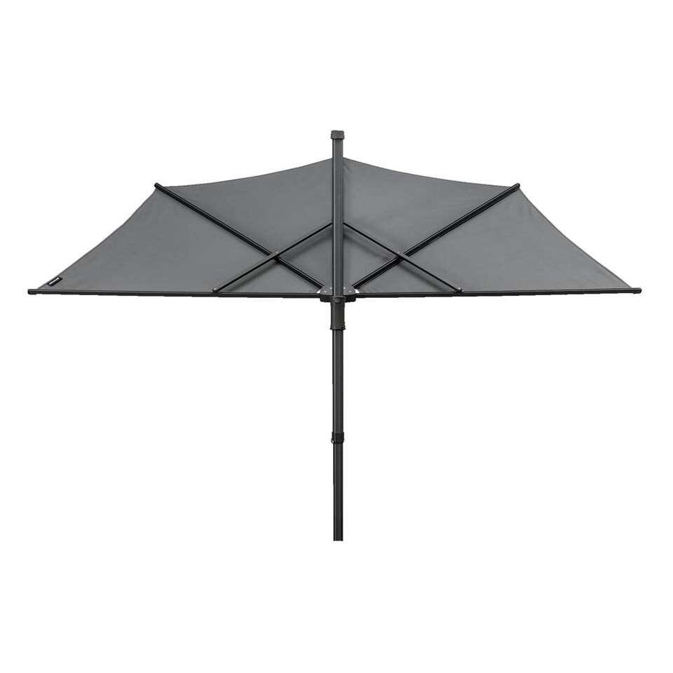 Parasol Voor Balkon.Balkonparasol Sunwave Grijs 150x270x156 Cm