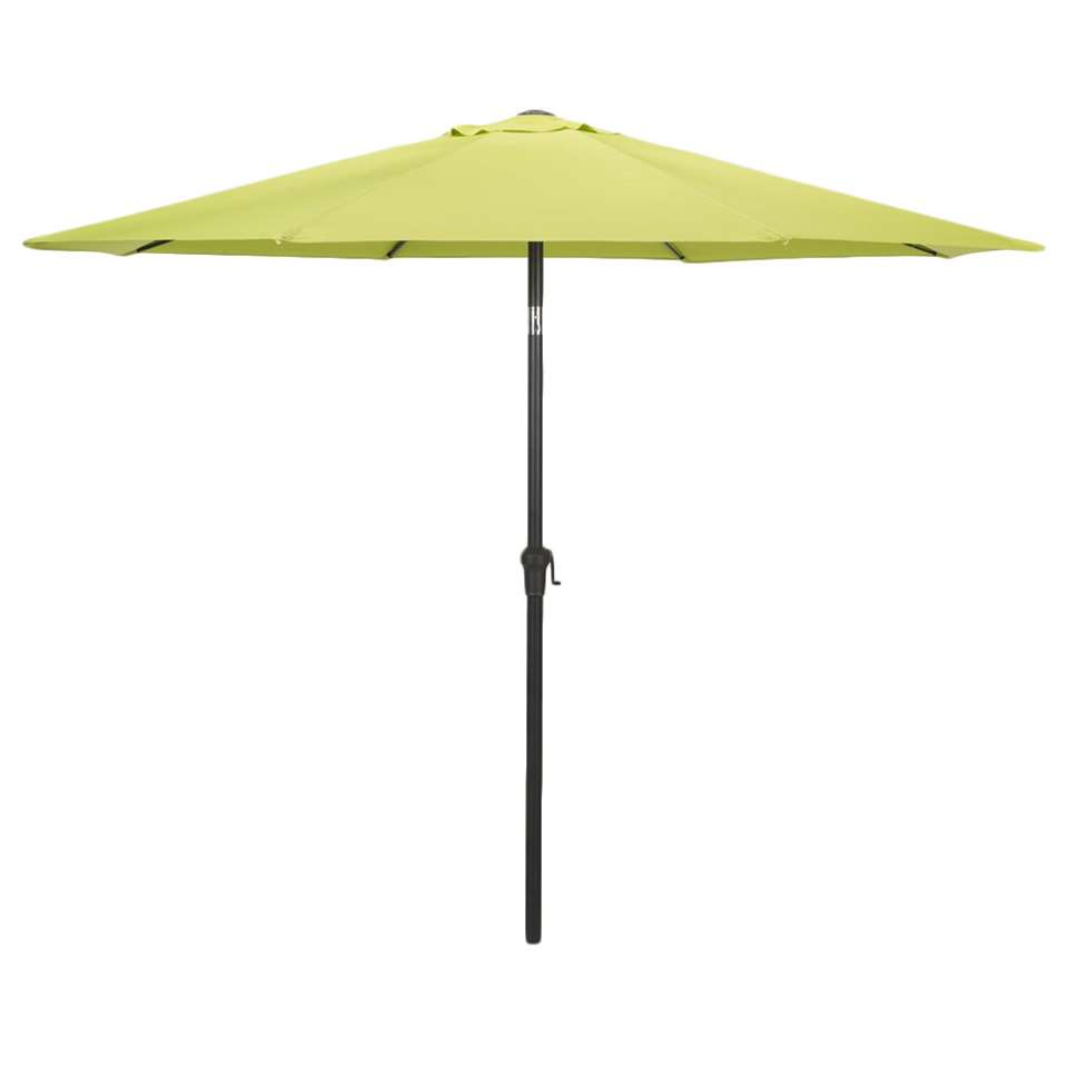 Le Sud parasol Dorado - lime - Ø300 cm - Leen Bakker