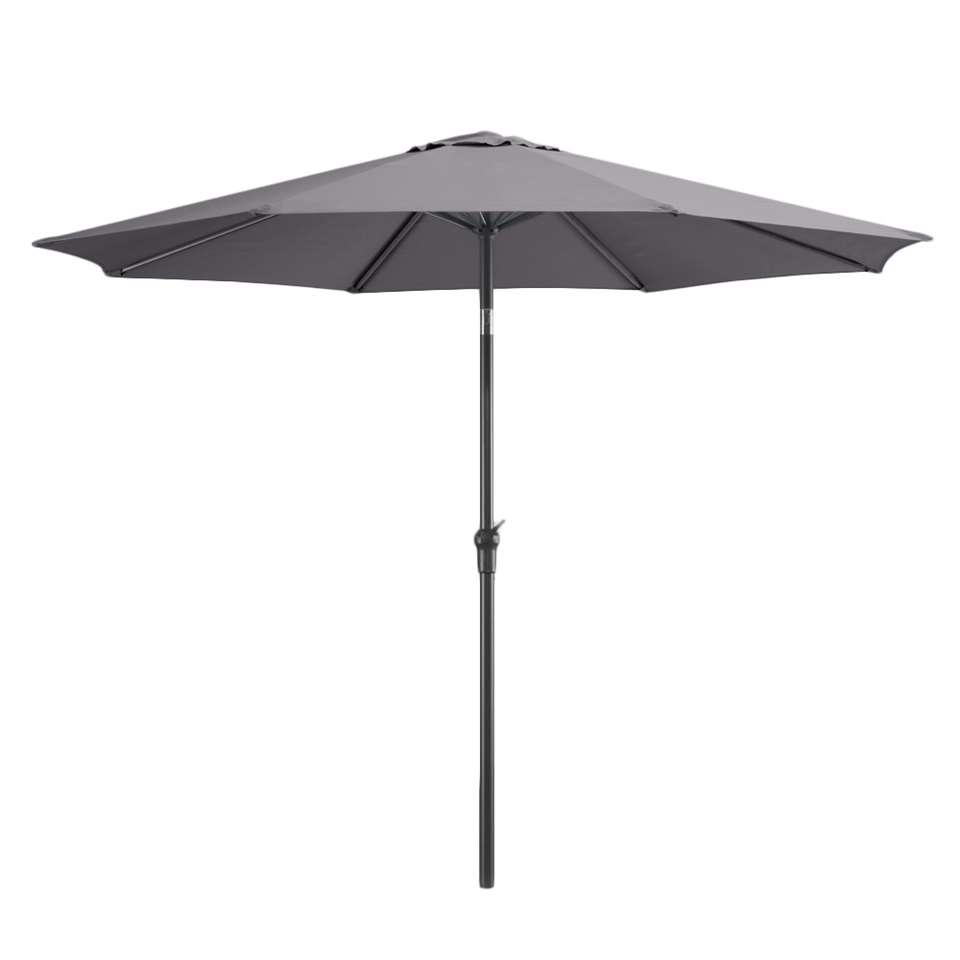Le Sud parasol Dorado - antraciet - Ø300 cm - Leen Bakker