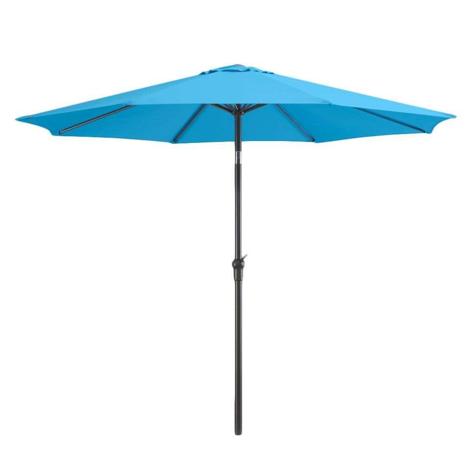 Le Sud parasol Dorado - aqua - 300 cm - Leen Bakker