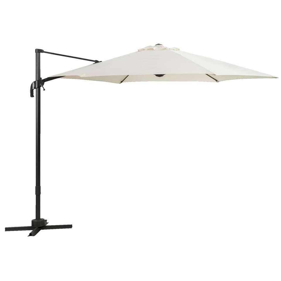 Le Sud freepole parasol Verdon - ecru - 300 cm