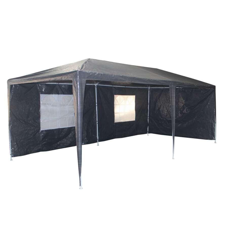 Partytent Braga - grijs - 300x600 cm - Leen Bakker