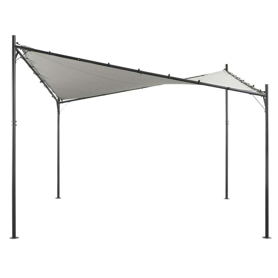 Paviljoen Santander - grijs - 300x300x270 cm - Leen Bakker