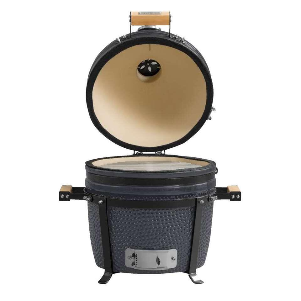 Patton barbecue Kamado Grill 15″ – grijs – Leen Bakker