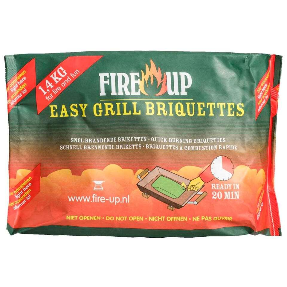 Fire Up easy grill briketten - 1.4kg