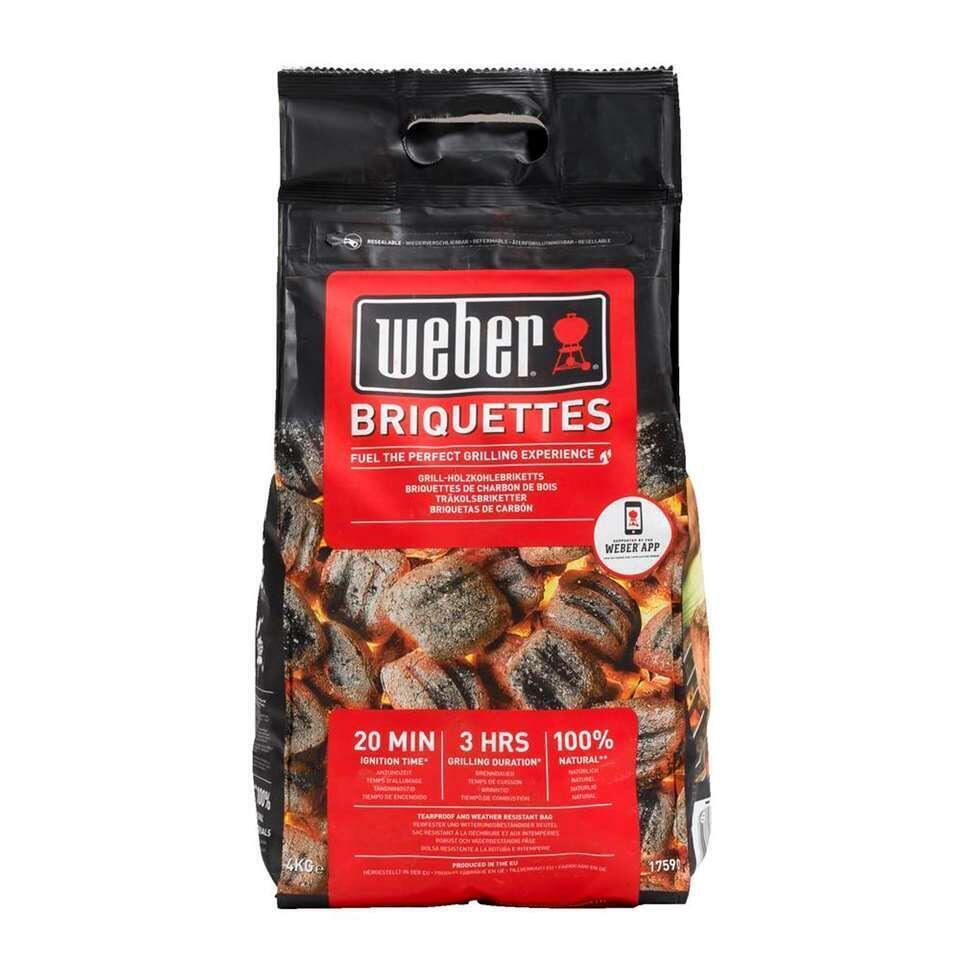 Weber briketten - 4 kg - Leen Bakker