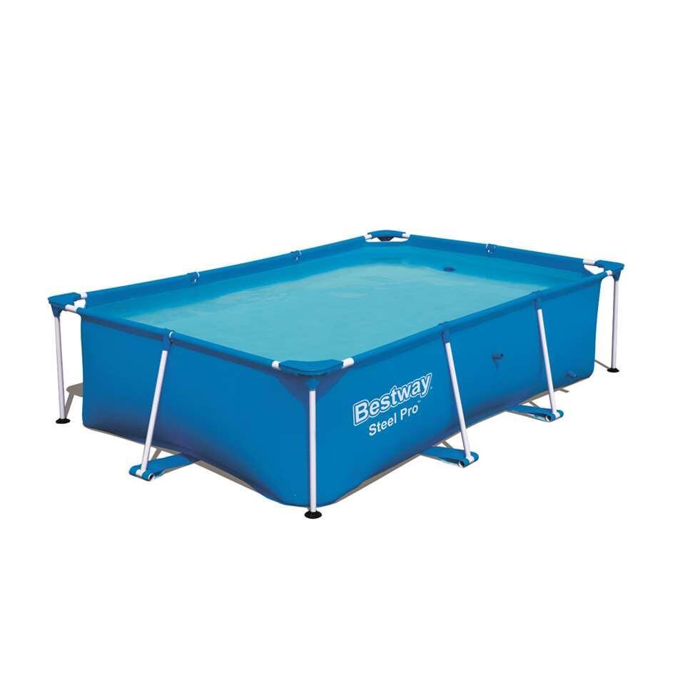 Zwembad Passaat - blauw - 259x170x61 cm - Leen Bakker