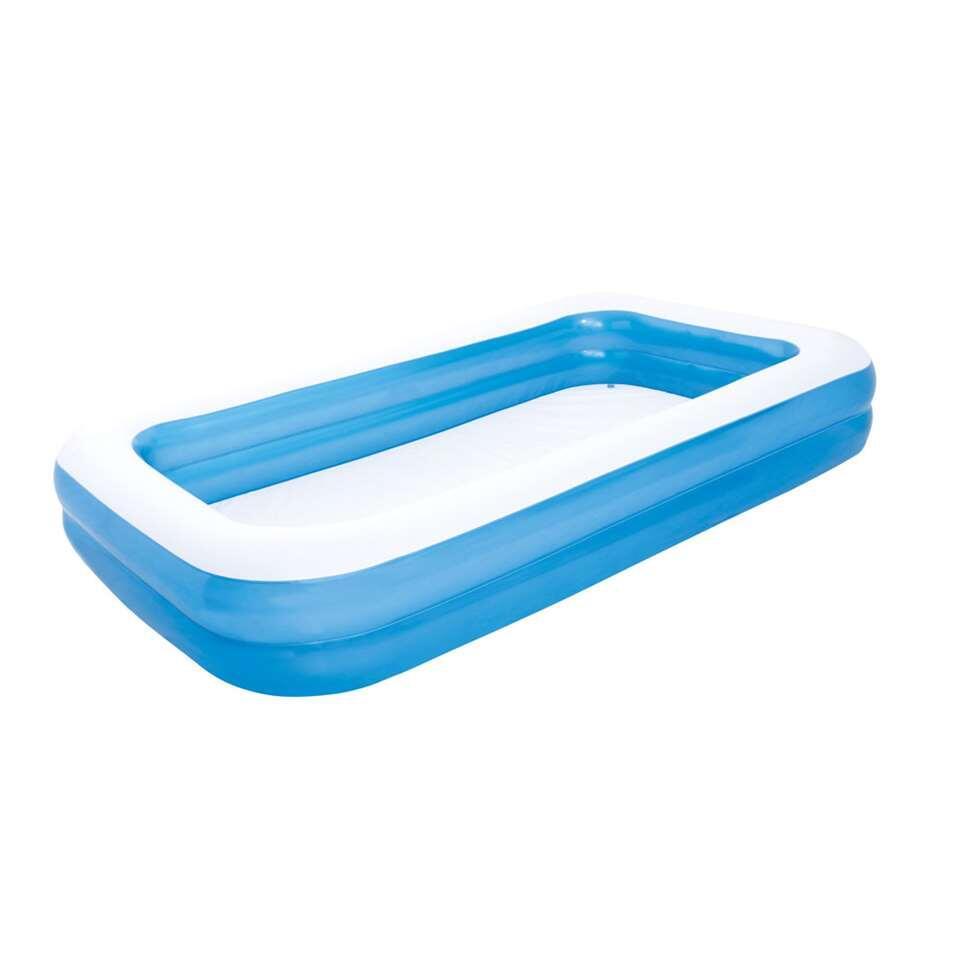 Bestway familiezwembad - 211x132 cm - Leen Bakker